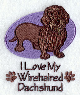 Image for Wirehaired Dachshund Towel