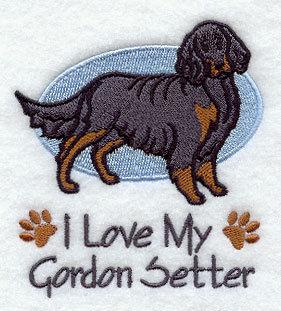 Image for Gordon Setter Towel