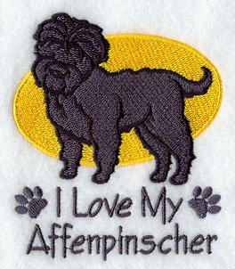 Image for Affenpinsher Dog Towel