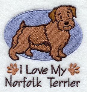 Image for Norfolk Terrier Towel