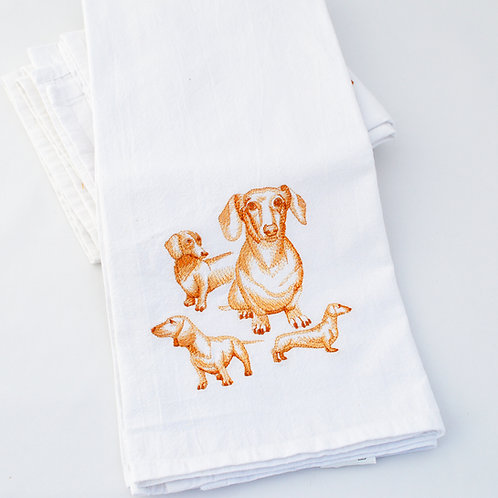 Dachshund Kitchen towels