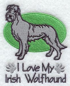 Image for Irish Wolfhound Towel