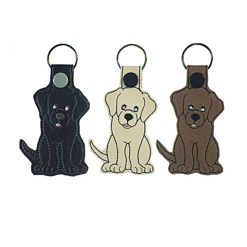 Labrador Retriever Key Fobs Gifts for Dog Lovers in Three Colors