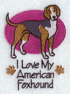 Image for American Foxhound Towel