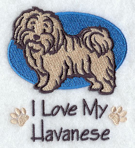 Image for Havanese Towel