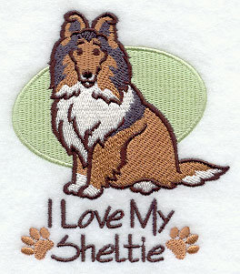 Image for Sheltie Dog Towel
