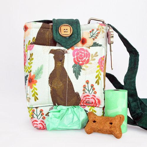 Greyhound Dog Walking Bag