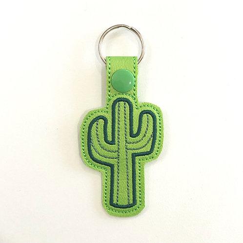 Saguaro Cactus Key Fob