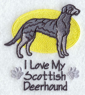 Image for Scottish Deerhound Towel