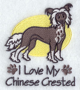 Image for Chinese Crested Towel