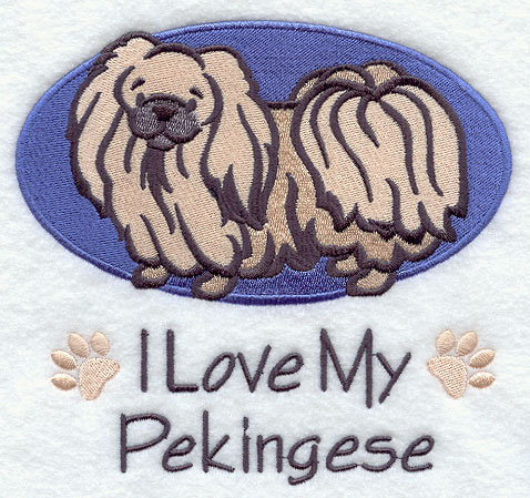 Image for Pekingese Dog Towel