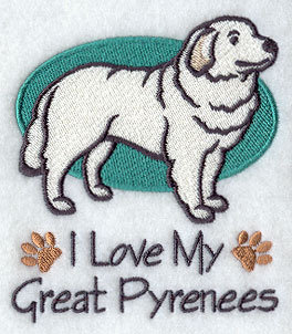 Image for Great Pyrenees Towel