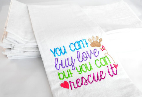 """""""You Can't Buy Love But You Can Rescue It"""""""