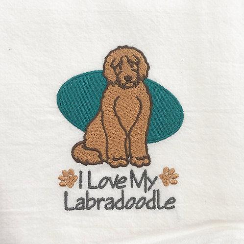 Labradoodle Towels