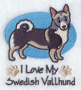 Image for Swedish Vallhund Towel