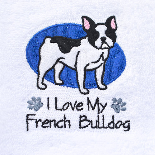 French Bulldog Towels