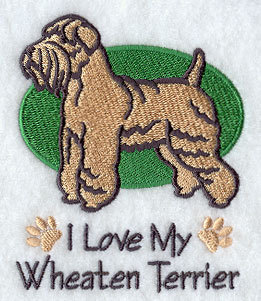 Image for Wheaten Terrier Towel