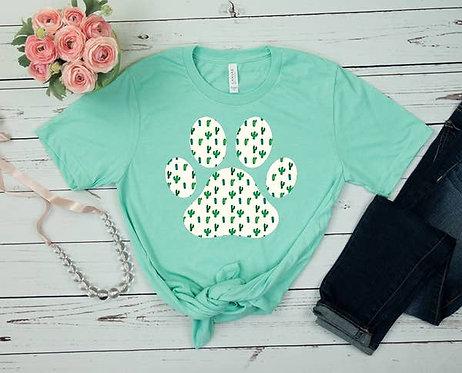 Cactus Paw Print T-Shirt