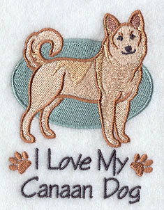 Image for Canaan Dog Towel