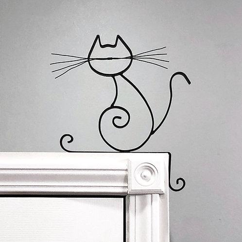 Soul Corner Kitty Metal Cat Wall Decor