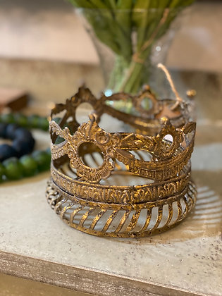 Gold Swag Crown