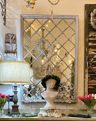 Fleur Lattice Wall Mirror