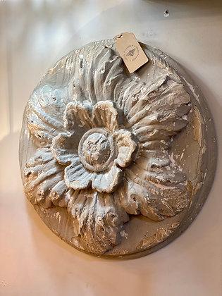 Gray Botanical Medallion