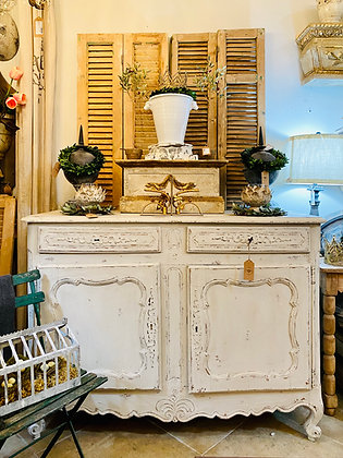 Antique Painted French Sideboard