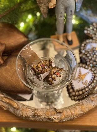 Tiny Jeweled Santos Crown