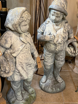 Weathered Statues