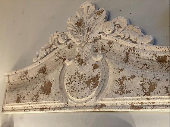 Ivory Resin Pediment