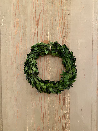 "9"" Boxwood Wreath"