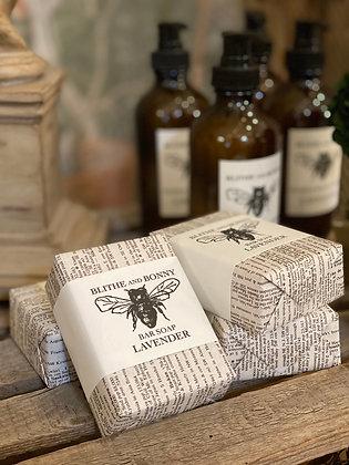 Blithe & Bonny Vegan Lavender Soap