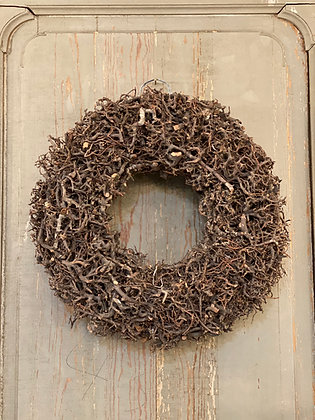 "16"" Heavy Twig Wreath"