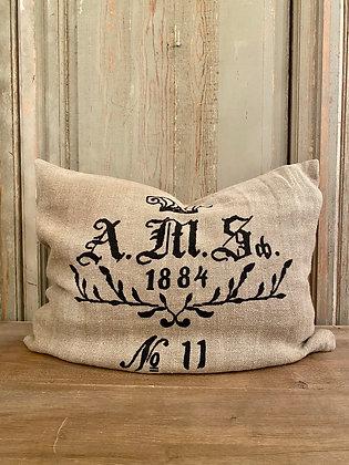 Linen A.M.S Pillow