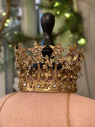 Large Jeweled Star Crown