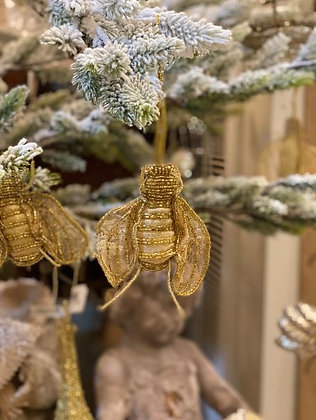 Opal Bee Ornament