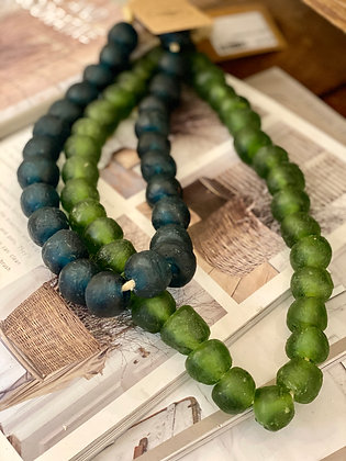 Medium Glass Bead Decor