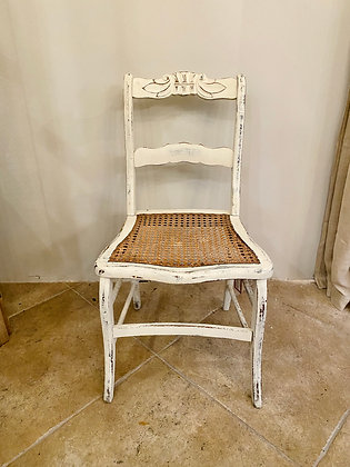 Antique Caned Ballroom Chair