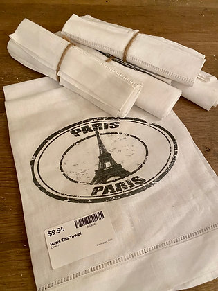 Paris Tea Towel