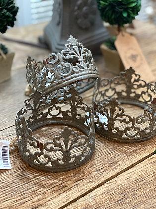 Small Zinc Crown