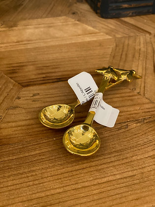 Brass Bee Spoon