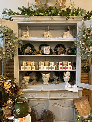 Grey French Cabinet