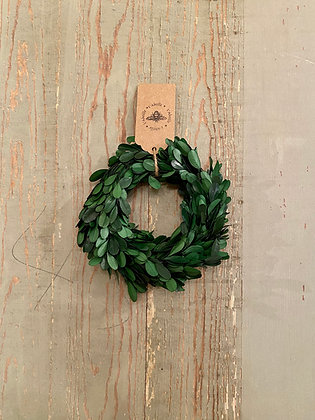 "6"" Boxwood Wreath"