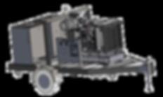 127 HP Mobile Diesel Hydraulic Power Unit