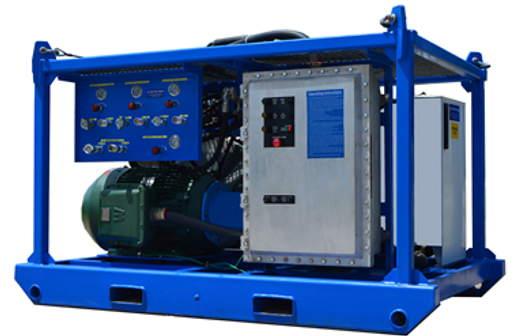 150 HP Explosion Proof Electric Hydraulic Power Unit
