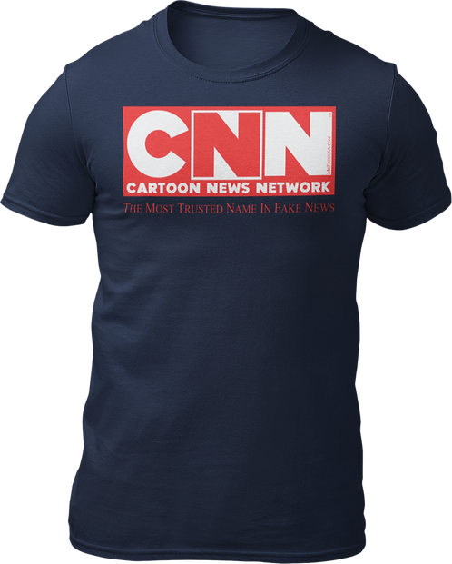 CNN Cartoon News Network Short-Sleeve Unisex T-Shirt