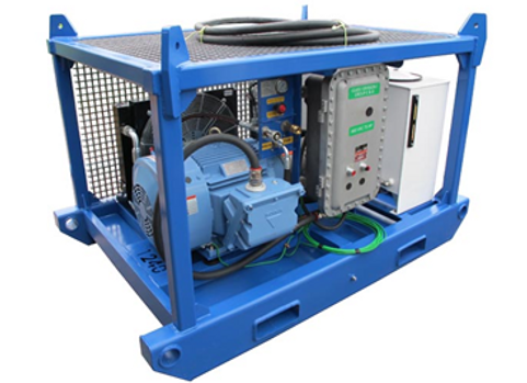 75 HP Explosion Proof Electric Hydraulic Power Unit