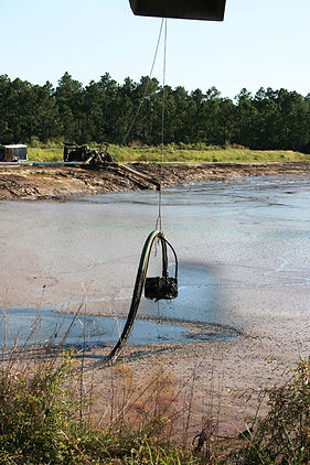 Waste Water Lagoons Pumping Applications