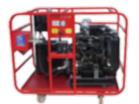38 HP Mobile Diesel Hydraulic Power Unit